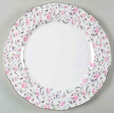 Royal Albert ROSE CONFETTI Vintage Formal Dinner Plate 9359762