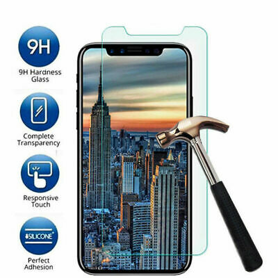 Premium Tempered Glass Screen Protector Cover Guard For Apple iPhone XS