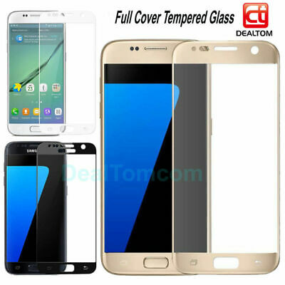 3D Full Cover Tempered Glass Film Screen Protector For Samsung Galaxy S6