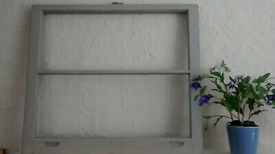 Vintage Sash Wood Window Picture Frame Wedding Distressed Gray