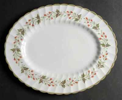 "Susie Cooper CHATSWORTH 13"" Oval Serving Platter S659008G2"
