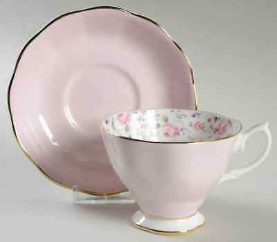 Royal Albert ROSE CONFETTI Cup & Saucer 9359743