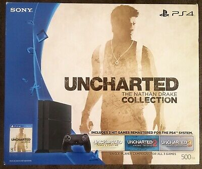 Playstation 4 500gb Console Uncharted The Nathan Drake