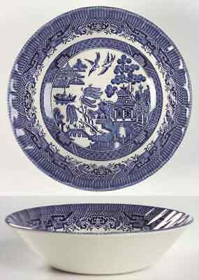 Royal Wessex BLUE WILLOW (SWIRL RIM) Cereal Bowl 952496