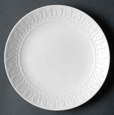 Gibson Designs WHITE DIAMONDS Salad Plate 4727547