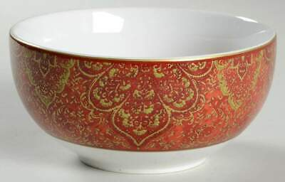 222 Fifth EVA OPULENT RED Soup Cereal Bowl 10099861