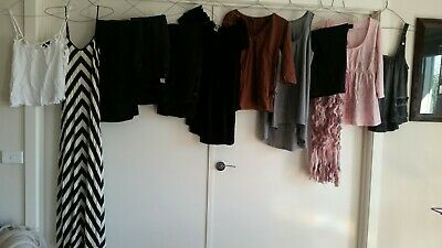 Maternity clothes and other clothes. Size 8-12