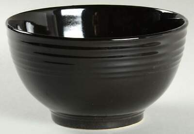 Gibson Designs STANZA BLACK Soup Cereal Bowl 10097246