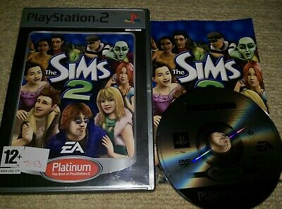 THE SIMS 2  - Rare Sony PS2 Game