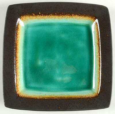 Gibson Designs OCEAN PARADISE JADE Square Salad Plate 10266702