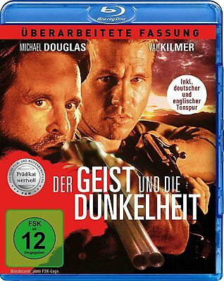 The Ghost and the Darkness - Michael Douglas, Val Kilmer Blu-Ray Region B