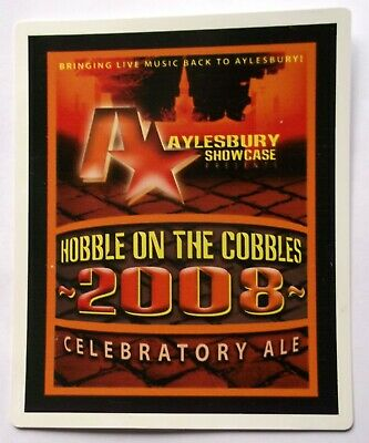 Beer Pump Clip Badge Aylesbury Showcase Celebratory Ale 2008 BP347