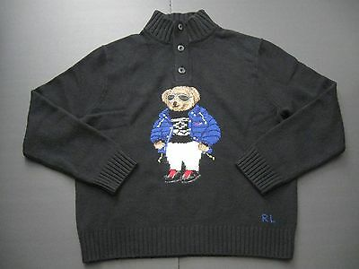 Knit Ltd Intarsia Col Homme Polo Ralph Lauren Ski Ours Laine Montant 2015 N8wOPZ0Xnk