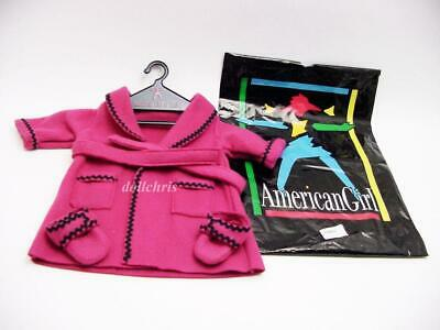 1996 Original American Girl Doll Bathrobe and Slippers Set Retired GNO New