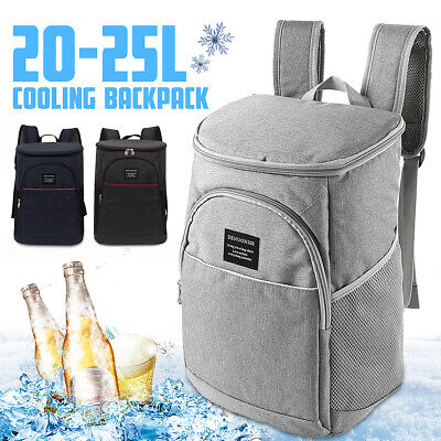 20L Rucksack Bag Insulated Waterproof Cooling Backpack Ice Cooler Picnic Camping