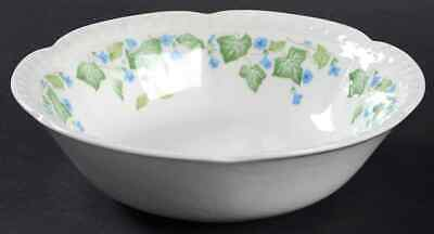 Johnson Brothers VINTAGE (GREEN IVY, BLUE FLOWERS) Cereal Bowl 285174