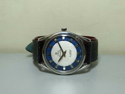 Vintage Titoni Airmaster Automatic Mens Wrist Watch old Used e1002 Antique