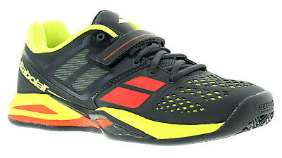 Babolat Propul Clay Padel Mens Trainers Black/Yellow UK Size