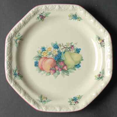 Avon SWEET COUNTRY HARVEST Salad Plate 5826164