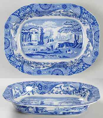 Spode BLUE ITALIAN Oval Vegetable Bowl 6695472