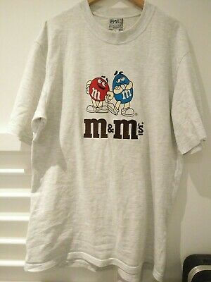 Vintage M&Ms Tee T shirt Made in Australia size M