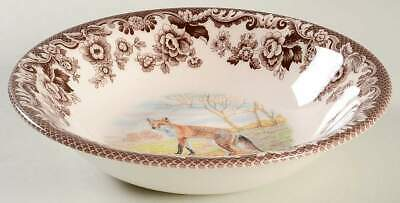 Spode WOODLAND Red Fox Cereal Bowl 10995291