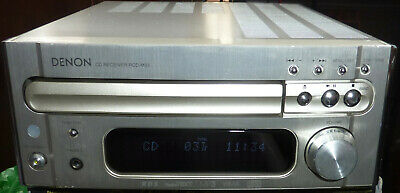 DENON RCD-M33 CD Player, FM Tuner MP3, MiNi Shelf Stereo, Unit, Amplifier -  used