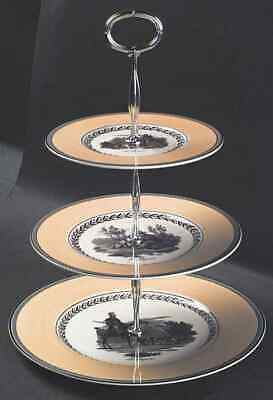 Villeroy & Boch AUDUN CHASSE 3-Tiered Serving Tray Handcrafted 2490709