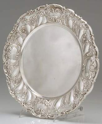 "Gorham CHANTILLY-GRAND (STERLING HOLLOWWARE) 10"" Dinner Plate 10976116"