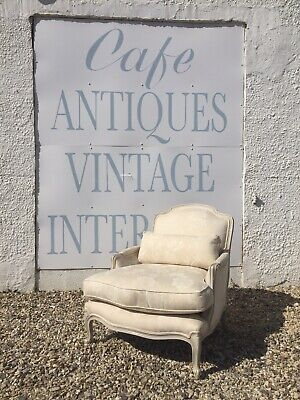 Stunning French Style Deep Seated Library Armchair