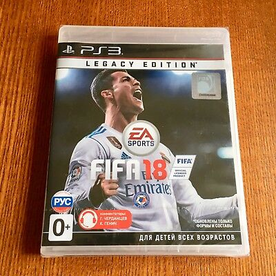 FIFA 18: Legacy Edition (Sony PlayStation 3) PS3 Brand New Sealed