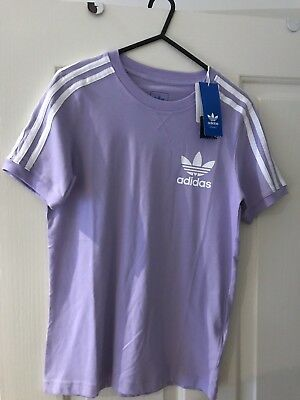 Adidas Girls 3S Icon Tee Youth Med 11/12