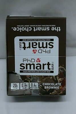 PHD Smart Bar-high Protein Low Sugar Bar Choc Brownie 64 G Pack of 10