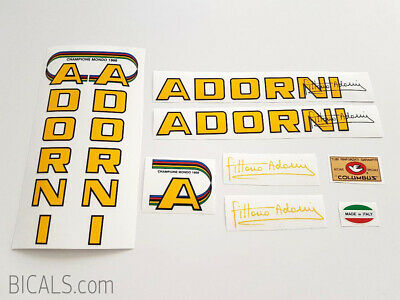 ZUNOW Bicycle Decal Set