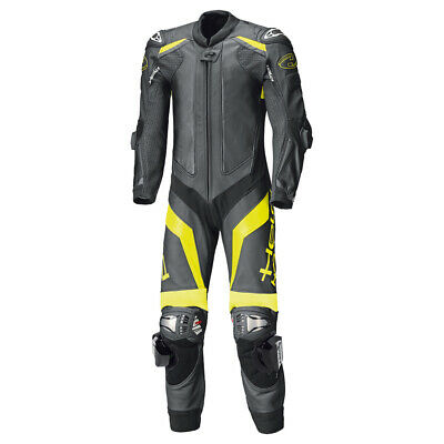 Held RACE-EVO II One-Piece leather motorcycle race-racing suit Black-Fluo Yellow