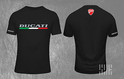 X Ducati Diavel Merge Uomo Girocollo T-Shirt in Nero