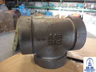"Malleable Iron Tee ANVIL 2"" 300 WSP 1500 WOG BMI"