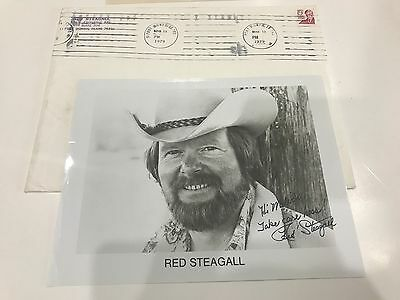 Red Steagall Country Singer  Songwriter and Actor Signed 8 x 10 Photo Autograph