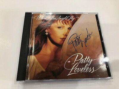 Signed Autograph CD Booklet Patty Loveless - When Fallen Angels Fly