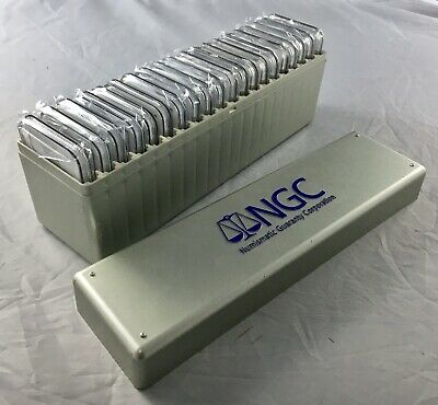1986-2005 American Silver Eagle Set – 20 Coins in NGC Box – All NGC MS69