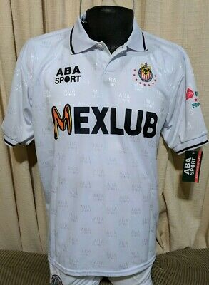 3adc63d4be6 NEW Chivas ABA Sport Authentic Jersey 97 Size L Away Campeon Vintage  Guadalajara