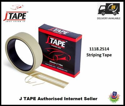 JTAPE Custom Paint Fine Line Flexible Car Bike Striping Tape 14m Roll