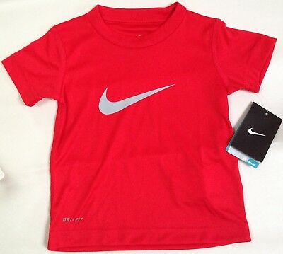 Nwt Nike Girls University Red T-Shirt Top Blouse Size 2T $18