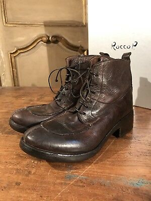 FREE PEOPLE PREVENTI Womens Ankle Boots Shoes Bench Made Size 6 Euro 36 Org $425