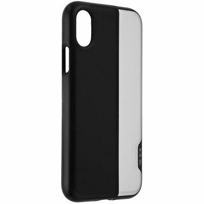 outlet store d79e6 2b1e7 TUMI VERTICAL SLIDER Case 2 Piece for Apple iPhone X Black / Silver NEW