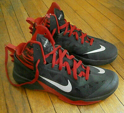 2adf6d8de199 NIKE ZOOM HYPERFUSE 2011 Red Black Basketball Shoes 454136-001 Men s ...