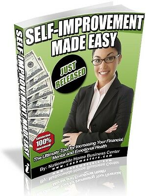 Self-Improvement Made Easy Pdf Ebook Free Shipping Resale Rights