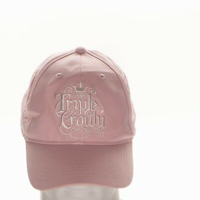 937a8654 Vans Triple Crown of Surfing Ladies Pink Cap Hat Adjustable Vans Off The  Wall