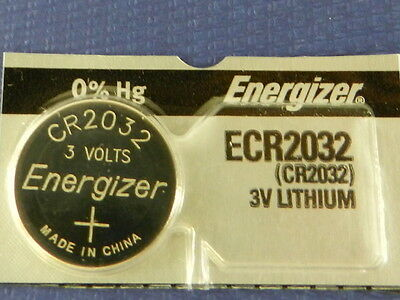 Energizer  ECR2032/ CR2032 Lithium 3V  Watch Batteries Cell,  1Pc