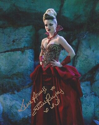 Emma Rigby Hand Signed 8x10 Photo Autograph, Once Upon a Time in Wonderland (C)